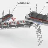 Separatory magnetyczne taśmowe - sposoby montażu